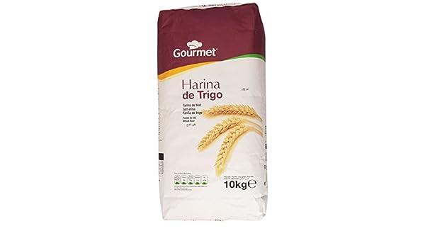 Gourmet - Harina de trigo - 10 kg: Amazon.es: Alimentación y bebidas
