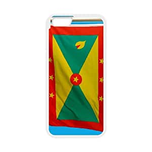 Grenada Flag iPhone 6 4.7 Inch Cell Phone Case White Zdnxy