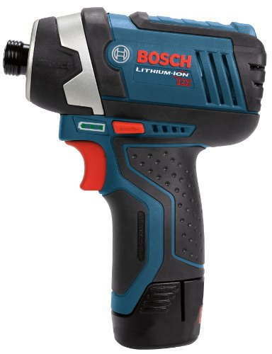 Bosch Power Tools Combo Kit CLPK22- 12-Volt 2-Tool Cordless Combo Kit  (Drill/Driver and Impact Driver) with 2 Batteries, Charger and Case