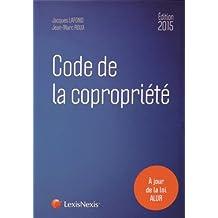 CODE DE LA COPROPRIÉTÉ 2015 19E ÉD.