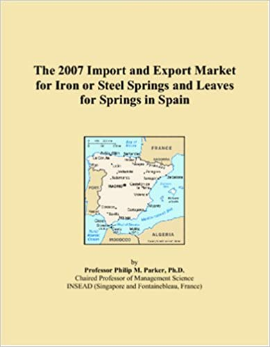 Book The 2007 Import and Export Market for Iron or Steel Springs and Leaves for Springs in Spain