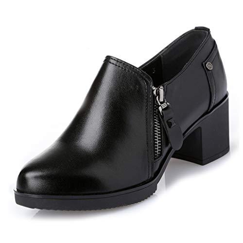 élégantes avec chaussures des de de Jane à talons pour Chaussures escarpins décontractées travail bureau Mary vintage dames wqXRO0p