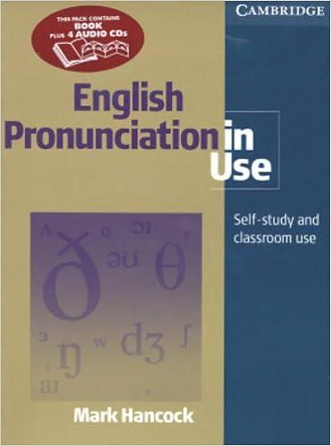 English Pronunciation in Use Pack Intermediate with Audio CDs: Amazon.es: Hancock, Mark: Libros en idiomas extranjeros