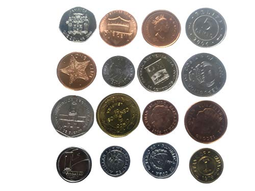 Novelty Collections-16 Americas Countries Coins (All UNC)