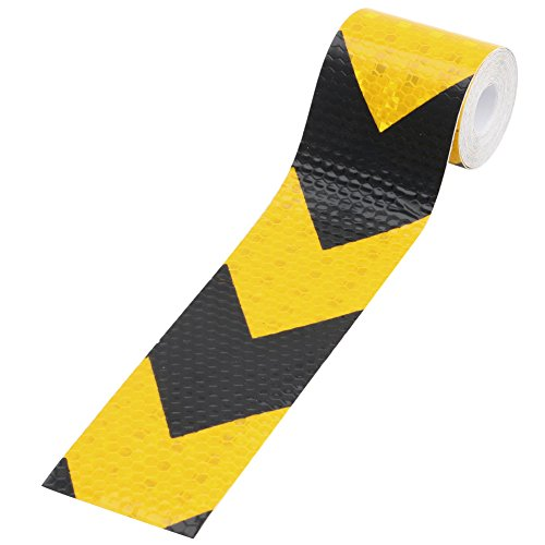Kocome 3M Night Reflective Conspicuity Safety Warning Tape Strip Arrow Sticker 2