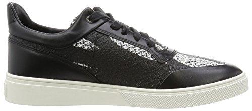 Diesel Heren Fashionisto S-hype Fashion Sneaker Zwart / Wit