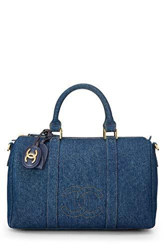 Blue Chanel Handbag - 7