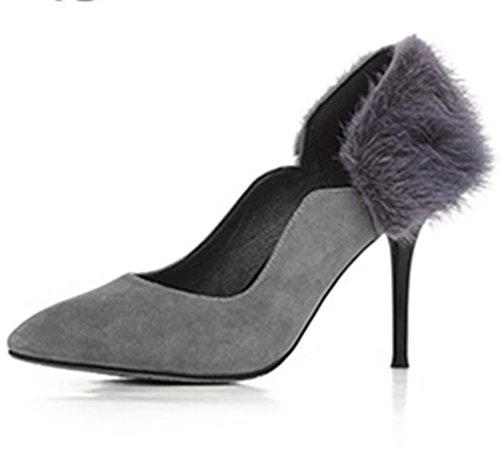 Nine Seven - Zapatos de Tacón mujer gris
