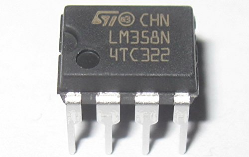 FAIRCHILD SEMICONDUCTOR LM358N IC, OP-AMP, DIP-8 (10 pieces)