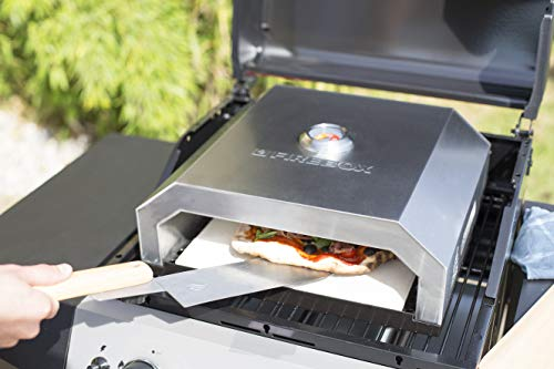 Enders Gasgrill Pizza : La hacienda 56216 grill pizzaofen silberfarben: amazon.de: garten