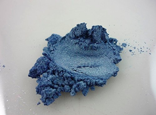 BLACK DIAMOND PIGMENTS 42g/1.5oz BLUESLATE Mica Powder Pigment (Epoxy,Paint,Color,Art) by BLACK DIAMOND PIGMENTS