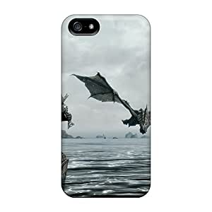 SherriFakhry Iphone 5/5s Durable Cell-phone Hard Covers Custom High-definition Skyrim Image [BVd4070jMbZ]