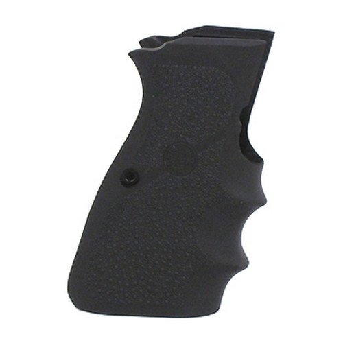 Hogue 09000 Rubber Grip, Browning High Power 9mm W/Finger Grooves (Best Browning Hi Power Clone)