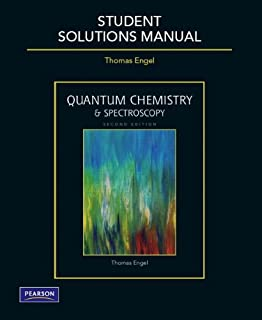 Quantum chemistry spectroscopy 2nd edition thomas engel student solutions manual for quantum chemistry and spectroscopy fandeluxe Choice Image