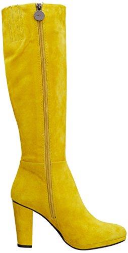 KALI Geox D D Gelb clásicas ACID de YELLOW cuero C2022 Botas amarillo mujer xxA54qEwr