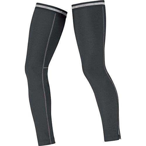 GORE BIKE WEAR Unisex Thermo-Beinwärmer, GORE Selected Fabrics, UNIVERSAL Thermo Leg Warmers, Größe S, Schwarz, AUNTLW