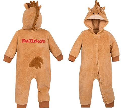 Bull Costume For Baby (Bullseye Costume Romper for Baby - Toy Story - Size 12-18 mos)