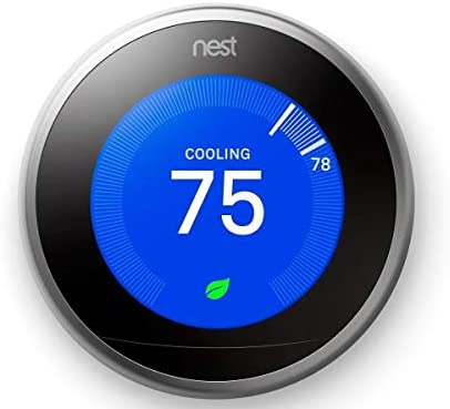 Nest Learning Thermostat Generation Stainless