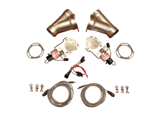 BadlanzHPE SS Electric Exhaust Cutout 2.5 INCH 5 YEAR WARRANTY!!