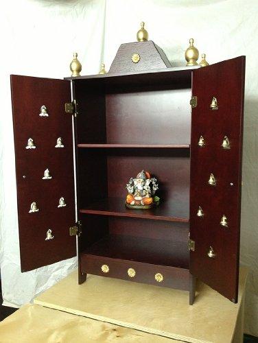 Elegant Home Puja Mandir Cabinet With 3 Stars 42 Buy