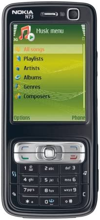 Nokia N73 Music Edition - Smartphone Libre - Negro: Amazon.es ...