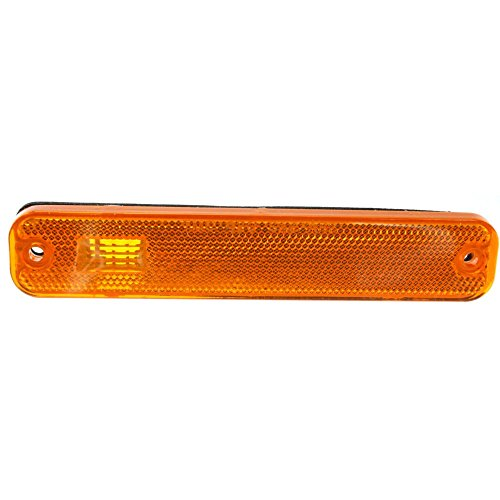 Front Side Marker Lamp compatible with Ford Econoline Van 75-91 Right or Left Lens and Housing On Fender ()