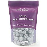 Favores de la fiesta de béisbol de chocolate con leche sólida Madelaine Premium (1 libra)