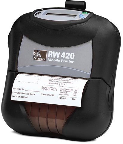 Amazon.com: Zebra Rw420 R4a-0uba000n-00: Electronics