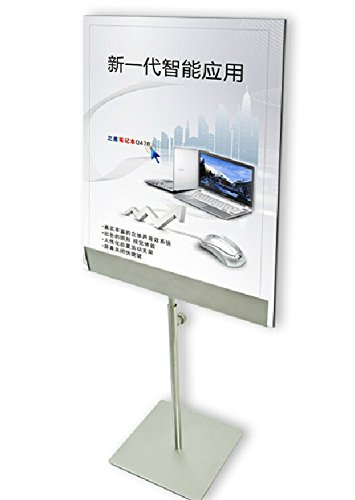 Stainless Steel Table Poster Stand Poster Banner Billboard Display Stand Tabletop Display by banner stand