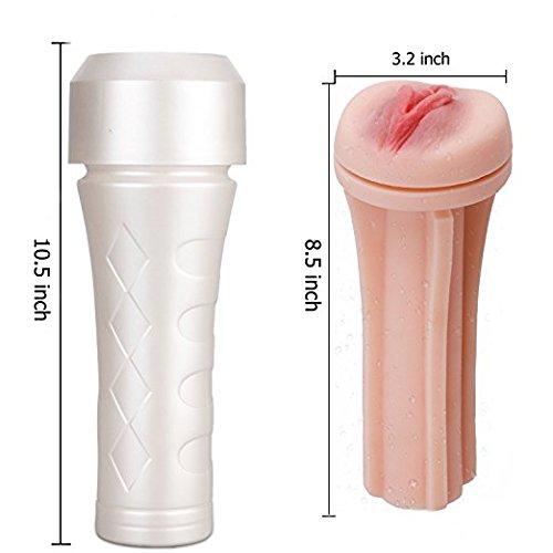 Man Masturbator Cup Adult Sex Toys- Male Masturbator Stroker 3D Realistic Vagina Masturbation Pussy Cup Discreetly Packed