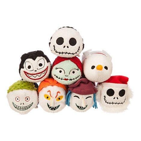 De auténtica Disney Store Pesadilla antes de Navidad Jack Skellington Tsum Tsum Mini Peluche: Amazon.es: Juguetes y juegos