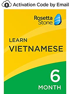 Rosetta Stone: Learn Vietnamese for 6 months on iOS, Android, PC, and Mac[Activation Code by Email] (B07D9D9CTT) | Amazon price tracker / tracking, Amazon price history charts, Amazon price watches, Amazon price drop alerts