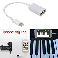 8-Pin OTG to USB Adapter Cable for the iPad Air New iPad & iPad MiniiPhone 5, 6