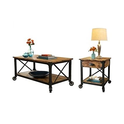 Rustic Furniture, This Rustic Pine Antiqued Furniture Look 2 Pcs Living  Room Set Will Be