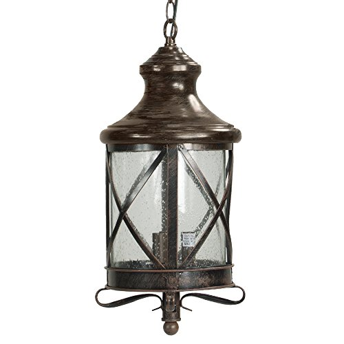 Outdoor Lantern Pendant Light - 5