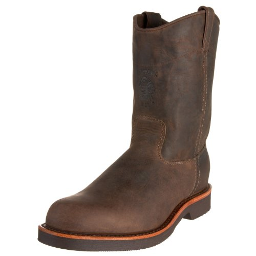 "Chippewa Men's 10"" Rugged Handcrafted Pull-On Boot - Choc..."