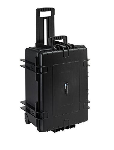B&W International 6800/B/SI 6800 Outdoor Case with SI Foam Durable Type, Black