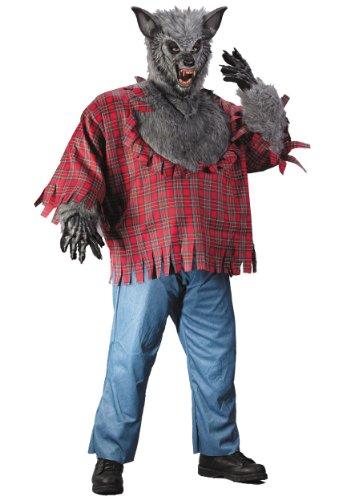 Fun World Men's Werewolf Plsz Cstm Multi Plus Size -