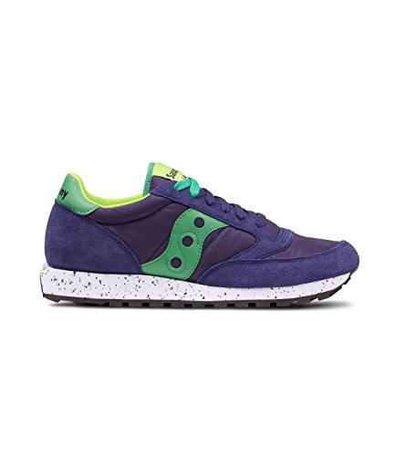 Saucony Sneakers Jazz in Camoscio e Nylon 7,5