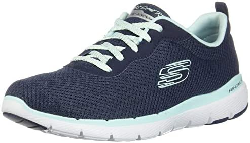 Skechers Flex Appeal 3.0 Satellite Women's Training Shoe Navy Grey