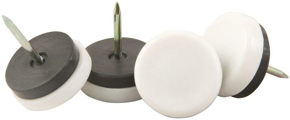 Waxman Consumer Group 4609695n 3//4 White Nail-On Furniture G,No 4609695N