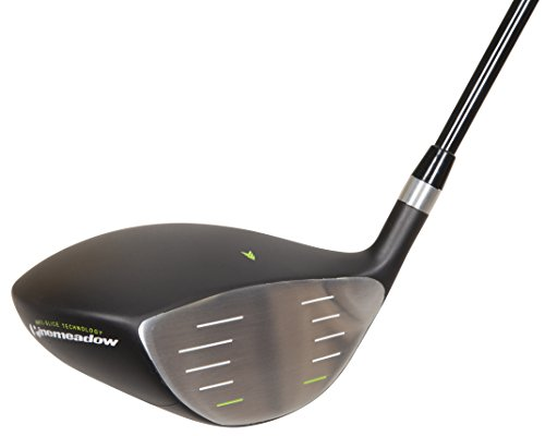 Pinemeadow Golf Products, Inc. 12357 Pinemeadow PGX Offset Driver (Men's, Right Hand, Graphite, Regular)