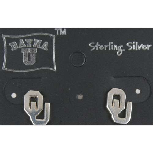 - Dayna U Oklahoma Sooners Sterling Silver Earrings