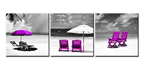 white and purple wall pictures - 7