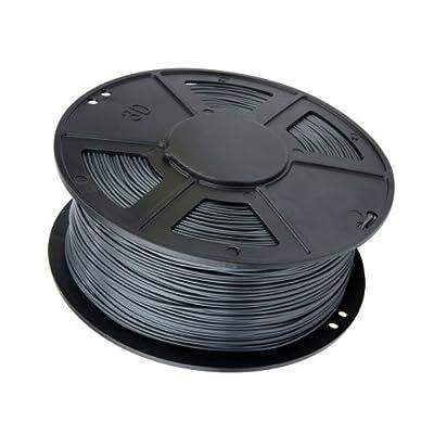 WYZworks 3d Printer Filament 3mm ABS Gray 1kg/2.2lb Reprap Markerbot