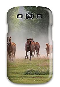 ZippyDoritEduard Case Cover For Galaxy S3 - Retailer Packaging Horses Animal Protective Case