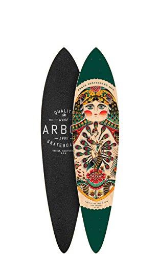 Arbor Fish GT Longboard Deck Skateboards, 39