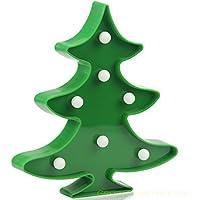 Green Christmas Tree LED Light LED Battery Light,Wtiaw...