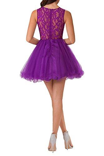 Navy Charmant Ballkleid Violett Festliche Blau Cocktailkleider Damen Kleider Damen Elegant Kleider Kurz Knielang Kurz rx7qYwrA