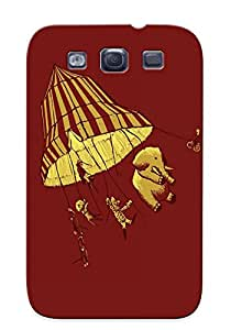 WRRvBDX11715xKmSC New Premium Flip Case Cover Circus Blown Away Skin Case For Galaxy S3 As Christmas's Gift